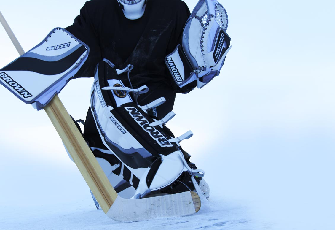 Brown Hockey Professional Goalie Equipment Handcrafted In Canada