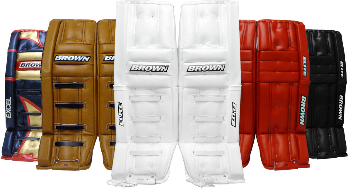 Goalie Equipment - Brown Hockey